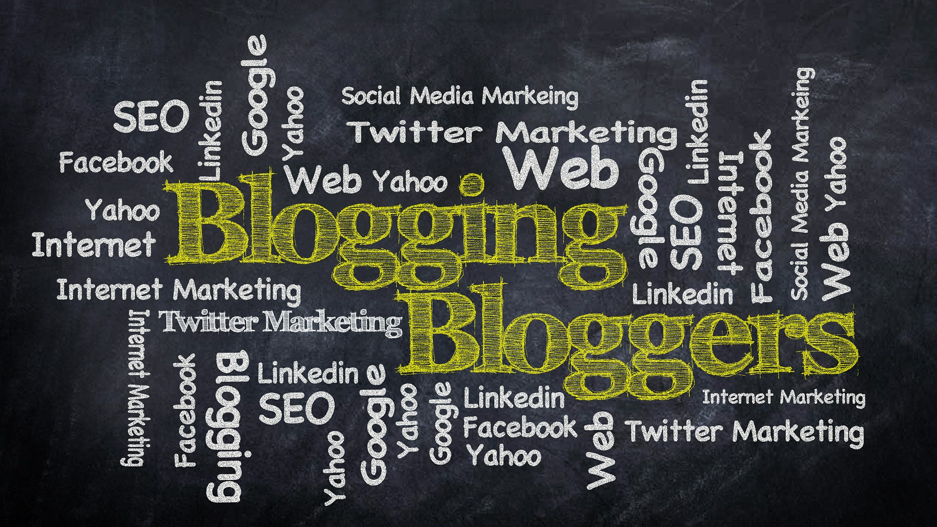 is blogging still important word cloud