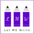 Let ME Write Logo